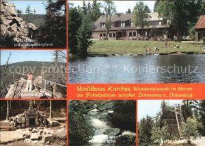 Fichtelgebirge Waldhaus Karches zwischen Schneeberg und Ochsenkopf Kat.