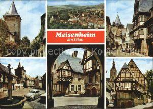 Meisenheim Glan am Glan Fachwerkhaeuser Kat. Meisenheim