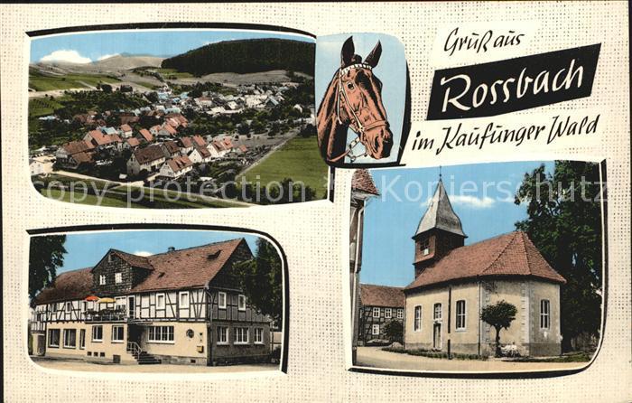 Rossbach Witzenhausen Gasthaus Zum Stern Kat. Witzenhausen