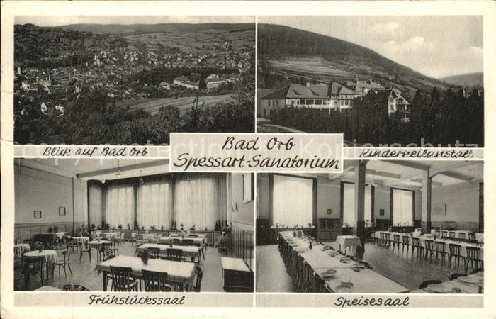 Bad Orb Kinderheilanstalt Sanatorium  Kat. Bad Orb