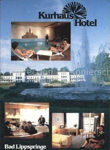 Bad Lippspringe Kurhaus Hotel Kat. Bad Lippspringe