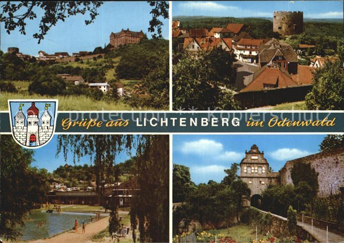 Lichtenberg Odenwald Restaurant Cafe Pension Schloss Lichtenberg Kat. Fischbachtal