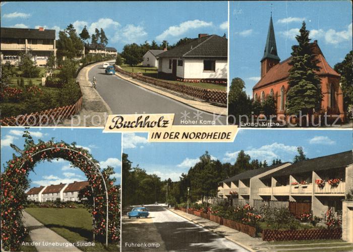 buchholz nordheide hoher kamp kirche fuhrenkamp kat buchholz in der nordheide nr kv26484. Black Bedroom Furniture Sets. Home Design Ideas