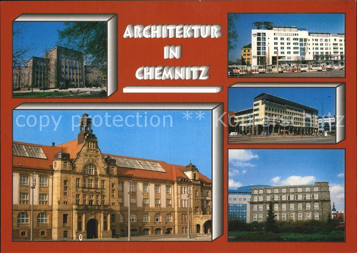 Chemnitz Alte Post Koenig Albert Museum Kat. Chemnitz