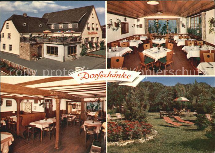 Espenschied Restaurant Pension Zur Dorfschaenke Kat. Lorch Nr ...