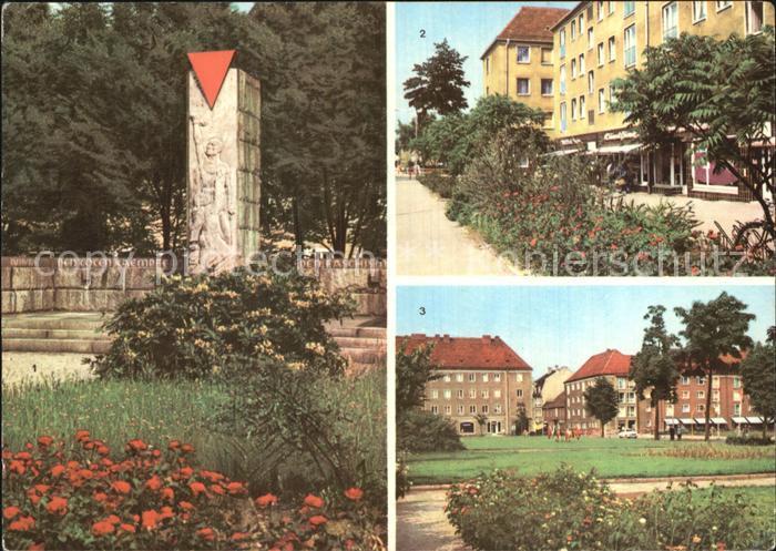 Niesky VVN Denkmal Zinssendorfplatz  Kat. Niesky