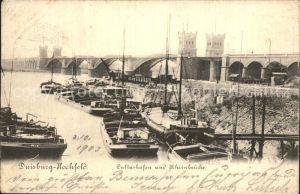 Ansichtskarte Duisburg Hochfeld Pauluskirche 1919 Nr. 100834
