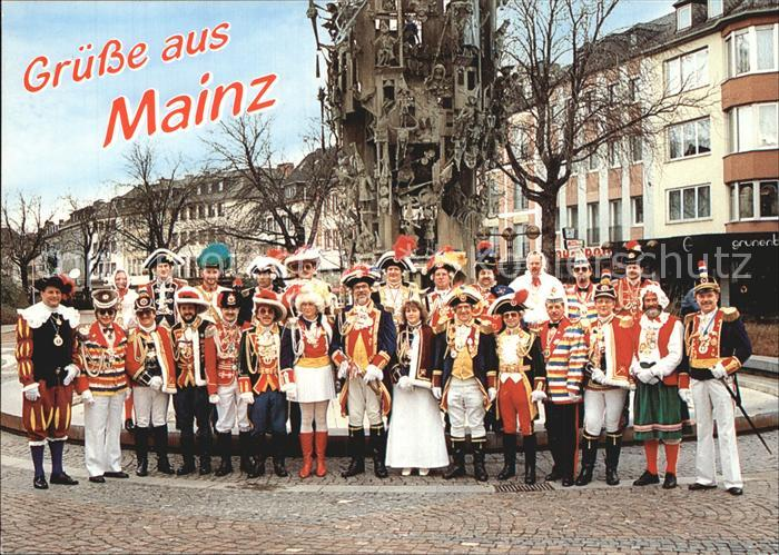 Mainz Rhein Eskortenleiter Mainzer Garden Fastnachtsbrunnen 0