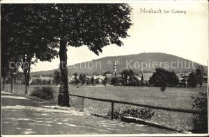 Neustadt Coburg Panorama Kat. Neustadt b.Coburg