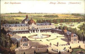 de02351 Bad Oeynhausen Koenigliches Kurhaus Gesamtbild Kat. Bad Oeynhausen
