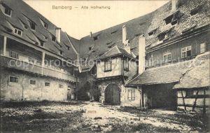 Bamberg Alte Hofhaltung Kat. Bamberg