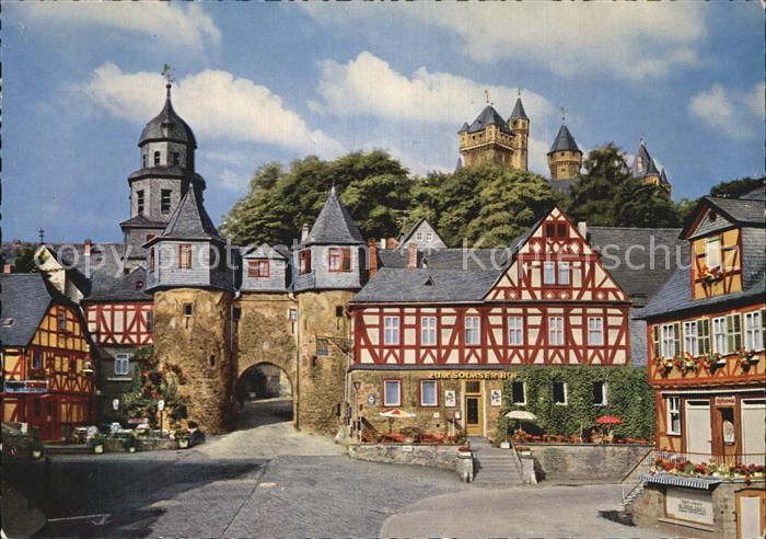 Braunfels Stadttor Burg Kat. Braunfels