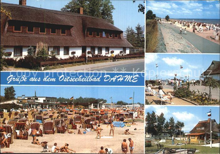 Dahme Ostseebad Reethaus Strand Minigolf Kat. Dahme