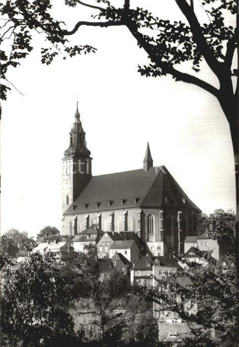 Schneeberg Erzgebirge Kirche St. Wolfgang Kat. Schneeberg