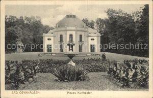 Bad Oeynhausen Neues Kurtheater Kat. Bad Oeynhausen