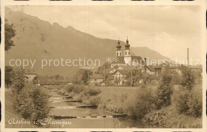 Aschau Chiemgau Kirche  Kat. Aschau i.Chiemgau