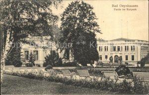Bad Oeynhausen Partie im Kurpark Kat. Bad Oeynhausen