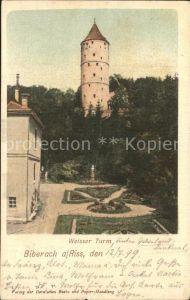 Biberach Riss Weisser Turm Kat. Biberach an der Riss
