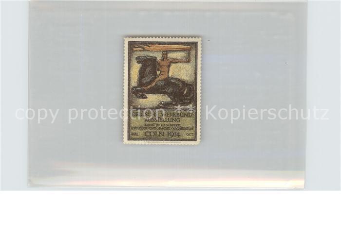 coeln rhein deutsche werkbund ausstellung kat koeln nr de02126 oldthing ansichtskarten. Black Bedroom Furniture Sets. Home Design Ideas
