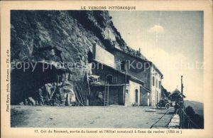 Col de Rousset Sortie du tunnel Hotel Collection Vercors pittoresque