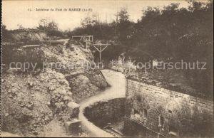 Marre Interieur du Fort Grande Guerre 1. Weltkrieg Kat. Marre