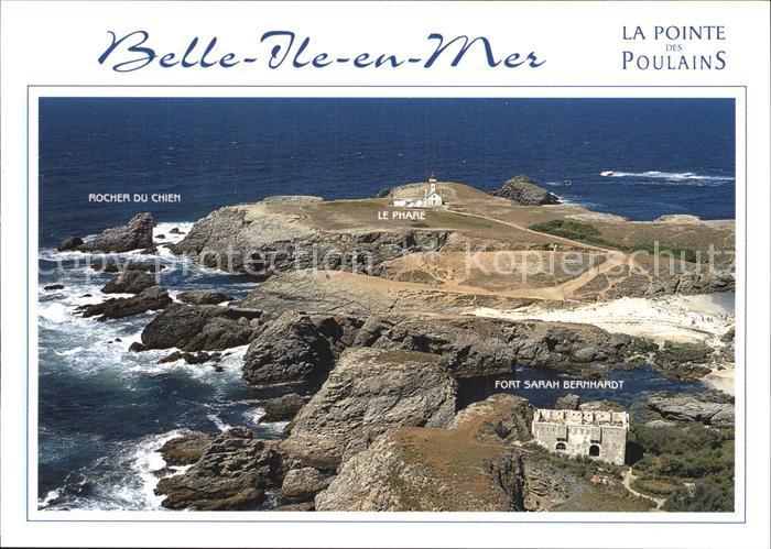 Belle Ile en Mer Fliegeraufnahme