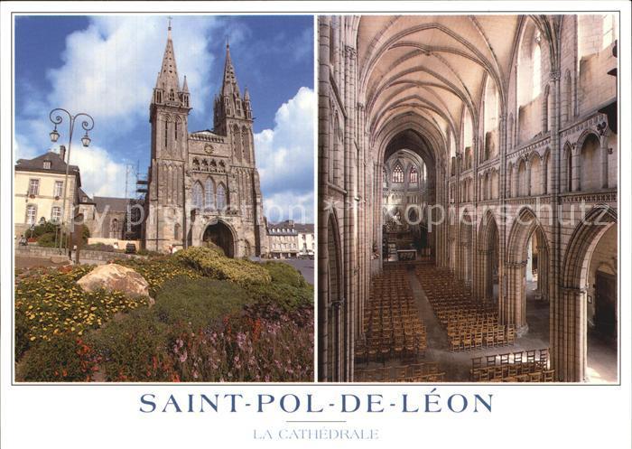 Saint Pol de Leon Cathedrale Kat. Saint Pol de Leon