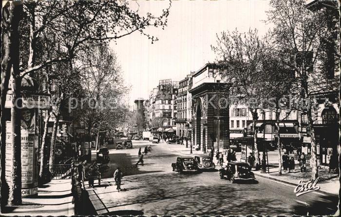 Paris Porte Saint Martin et Porte Saint Denis Kat. Paris