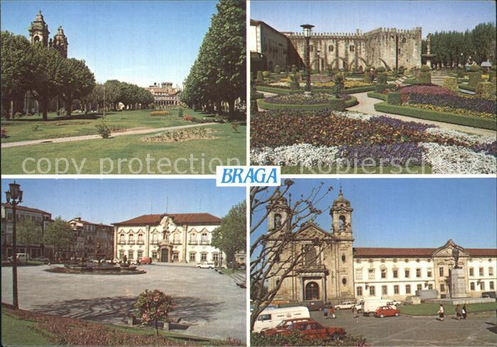 Braga Jardin Santa Barbara Largo do Campo da Vinha Kat. Braga