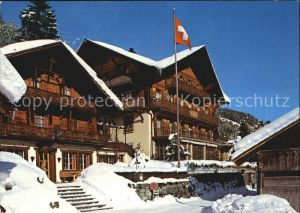 Champery Hotel Beau Sejour Kat. Champery