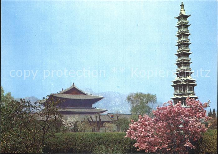 Seoul Kyongchon Temple Pagoda Kat. Seoul