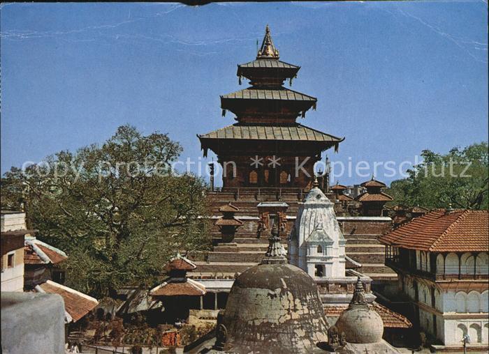 Nepal Taleju Tempel Kat. Nepal