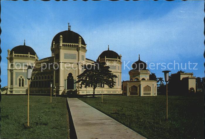 Medan Indonesia Grand Mosque Medan Kat. Medan