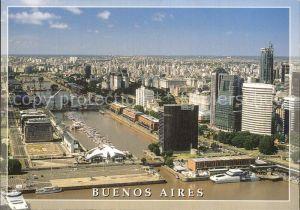 Buenos Aires Fliegeraufnahme Puerto Madero  Kat. Buenos Aires