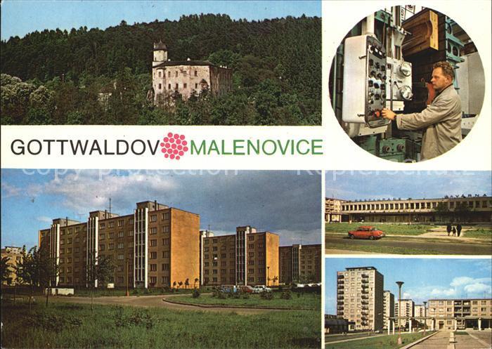 Gottwaldov Tschechien Malenovice Kat. Zlin