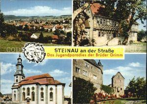 Steinau Strasse Amtshaus Hirschgraben Reinhardskirche  Kat. Steinau an der Strasse