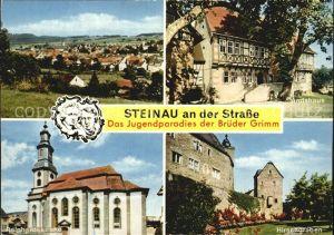 Steinau Strasse Amtshaus Reinhardskirche Hirschengraben Kat. Steinau an der Strasse