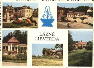 Lazne Libverda Kurpark Kat. Bad Liebwerda