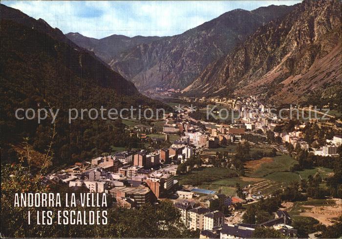 Andorra La Vella Les Escaldes  Kat. Andorra La Vella