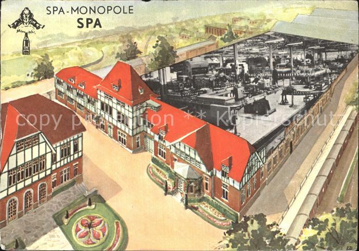 Spa Liege Monopole 1963Reine Kuenstlerkarte  Kat.