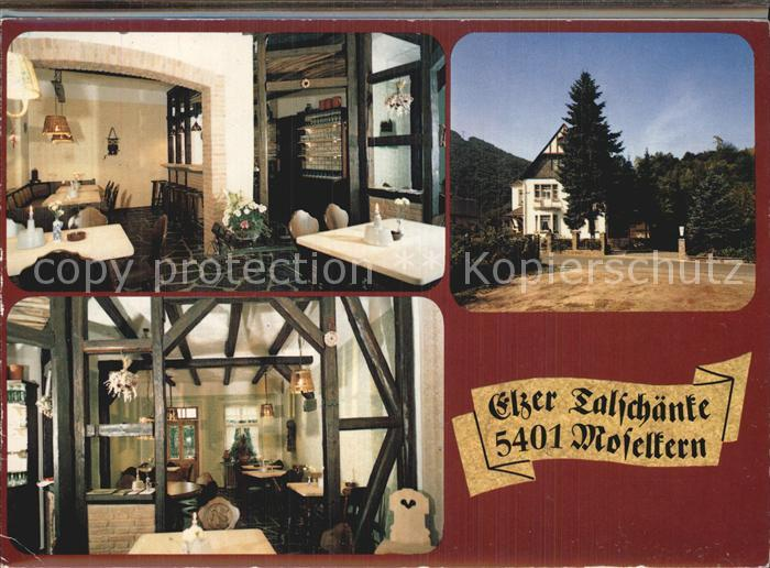 Moselkern Elzer Talschaenke Doppelkarte Kat. Moselkern Nr. cx70373 ...
