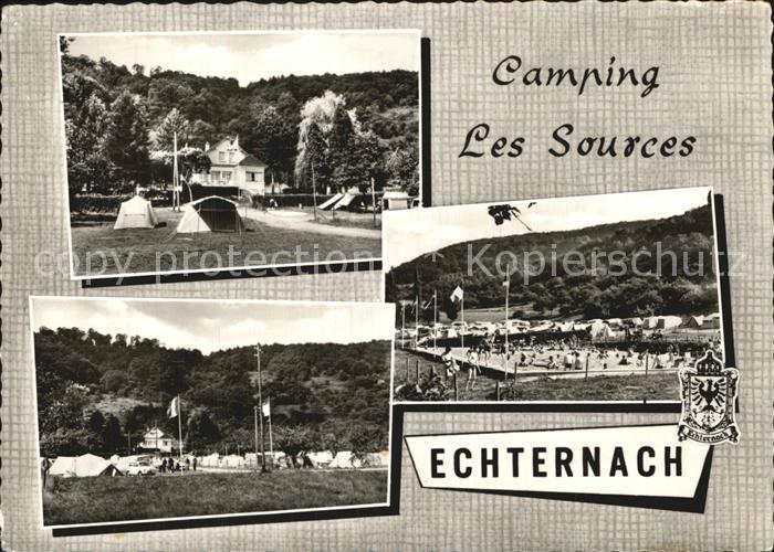 Echternach Camping Les Sources Kat. Luxemburg