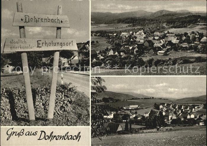 Dohrenbach  Kat. Witzenhausen