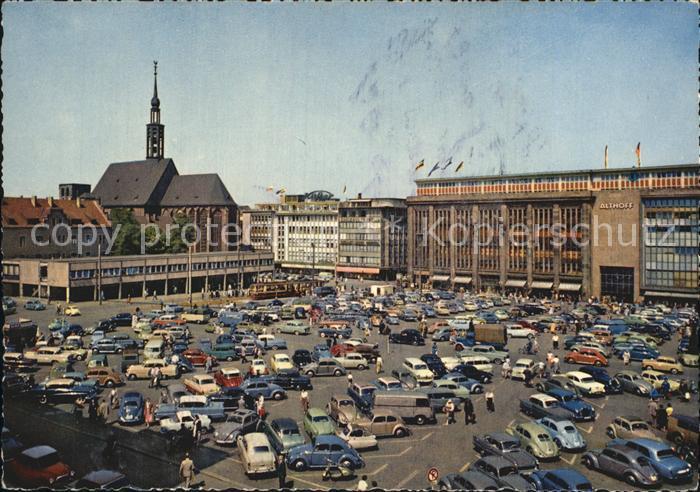 Dortmund Hansaplatz Probsteikirche Kat. Dortmund