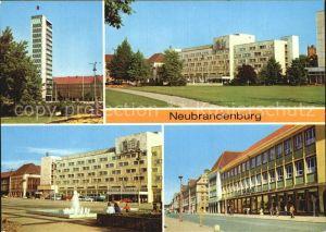 Neubrandenburg Hochhaus am Karl Marx Platz Centrum Warenhaus Kat. Neubrandenburg