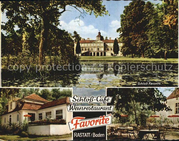Schloss Favorite Rastatt Cafe