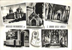 Assisi Umbria Basilica Patriarcale di San Maria degli Angeli Ansichten Kat. Assisi