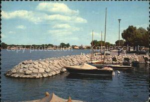 Peschiera Lago di Garda Hafen Kat. Lago di Garda Italien