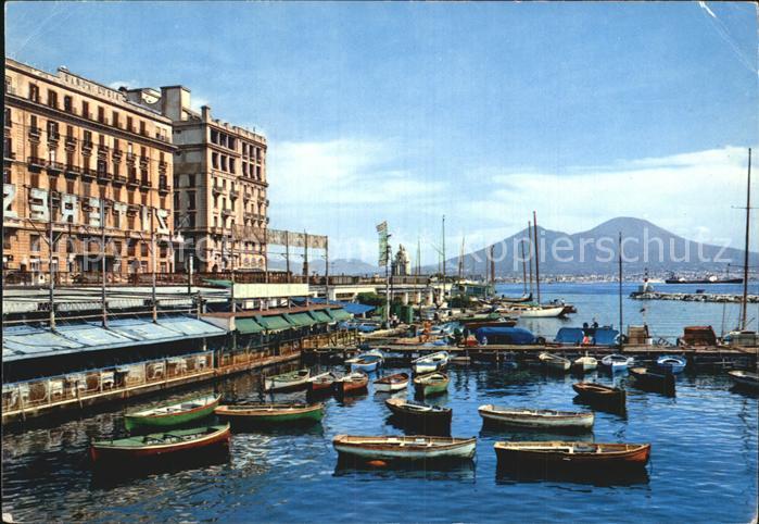 Napoli Neapel Hafen Kat. Napoli