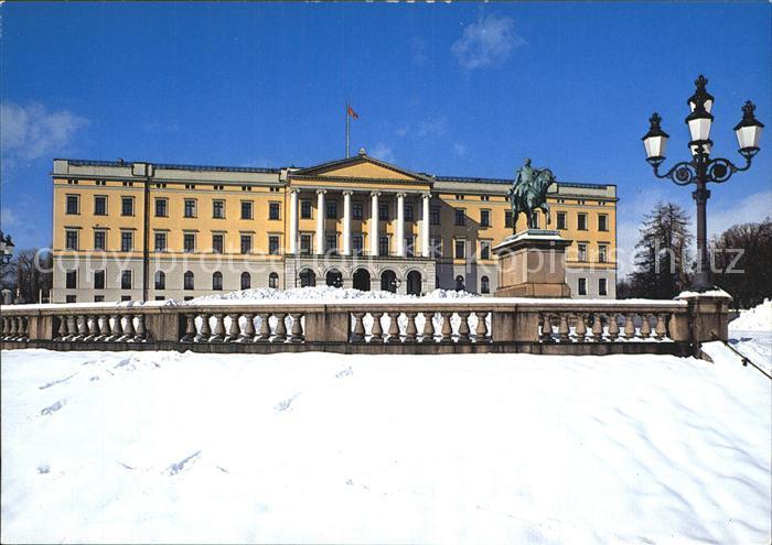 Oslo Norwegen Slottet Schloss Kat. Oslo